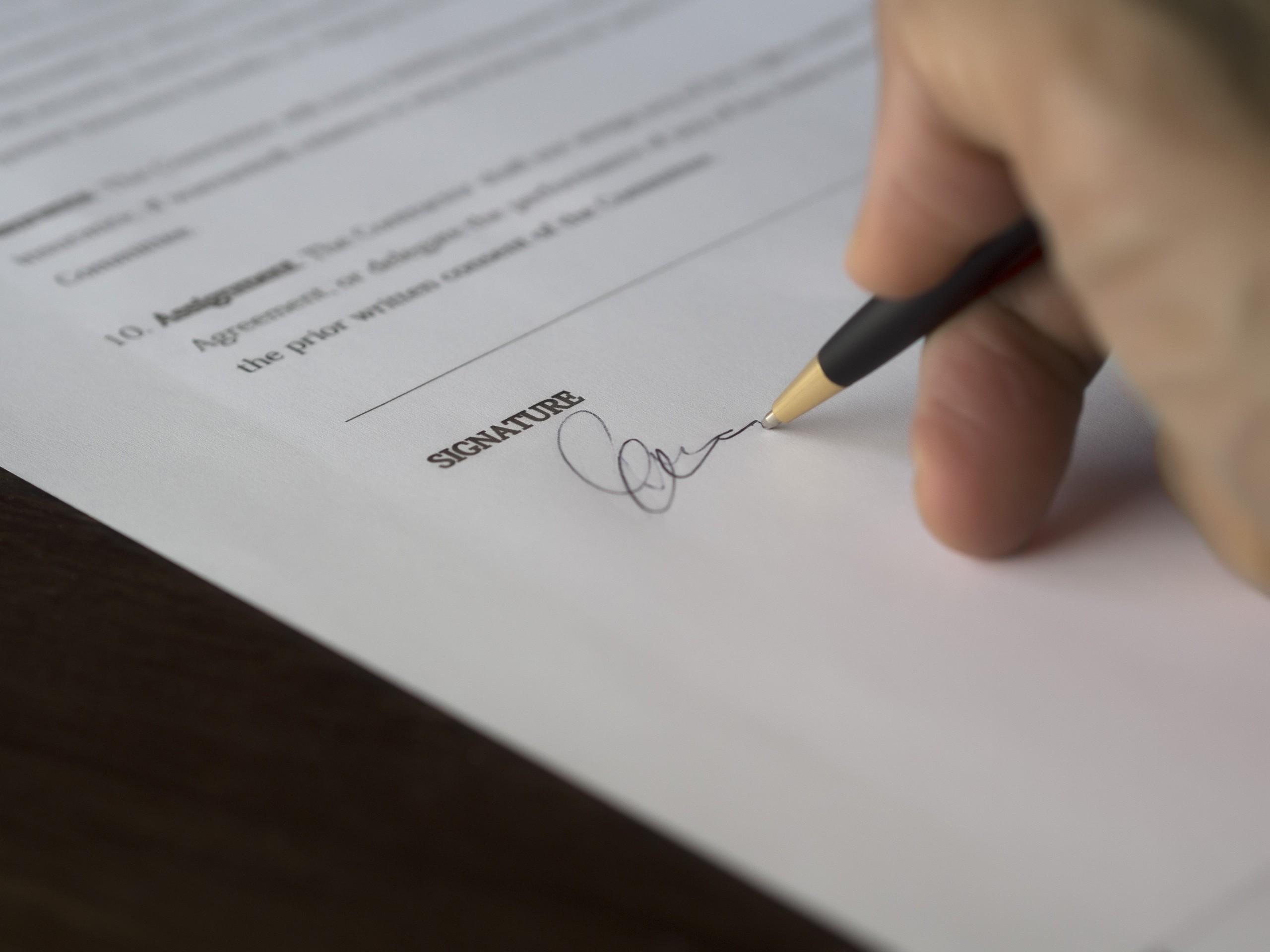 escritura de propiedad